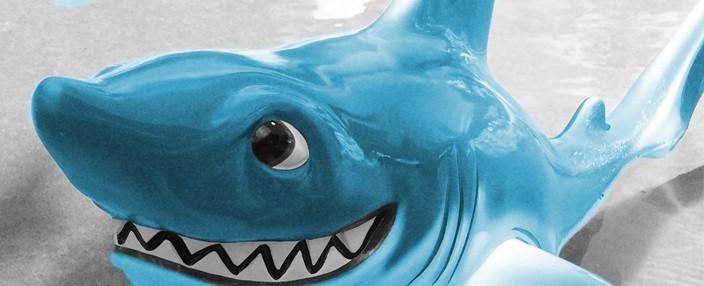 sales funnel is like a shark